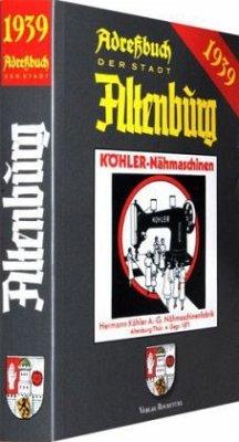 Adressbuch der Stadt Altenburg 1939