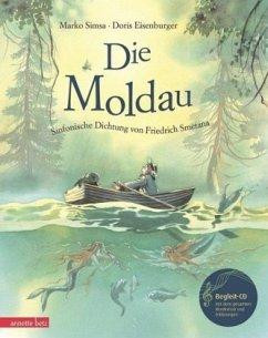 Die Moldau, m. Audio-CD - Simsa, Marko; Eisenburger, Doris