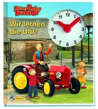 Kleiner roter traktor wir lernen die uhr buch