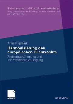 Harmonisierung des europäischen Bilanzrechts