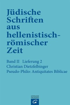 Pseudo-Philo: Antiquitates Biblicae (Liber Antiquitatum Biblicarum)