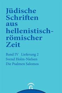 Die Psalmen Salomos - Holm-Nielsen, Svend