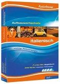 Audiotrainer Aufbauwortschatz Italienisch, 4 Audio-CDs