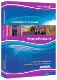 Audiotrainer Aufbauwortschatz Französisch, 4 Audio-CDs
