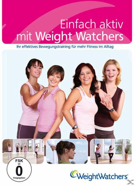 einfach aktiv mit weight watchers film auf dvd. Black Bedroom Furniture Sets. Home Design Ideas
