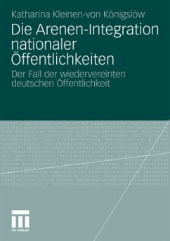 Die Arenen-Integration nationaler Öffentlichkeiten - Kleinen-von Königslöw, Katharina