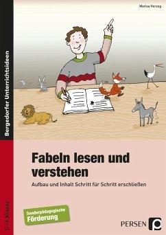 Fabeln lesen und verstehen - Herzog, Marisa