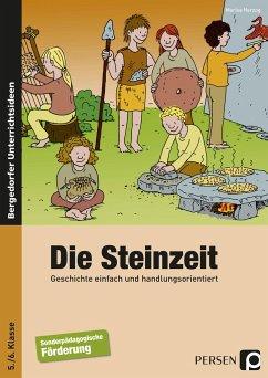 Die Steinzeit. Geschichte einfach und handlungsorientiert. - Herzog, Marisa