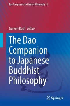 The Dao Companion to Japanese Buddhist Philosophy - Kopf, Gereon (Hrsg.)