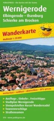 PublicPress Wanderkarte Wernigerode - Elbingero...