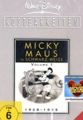 micky maus in schwarz wei volume 1 1928 1935 2 dvds auf dvd portofrei bei b. Black Bedroom Furniture Sets. Home Design Ideas