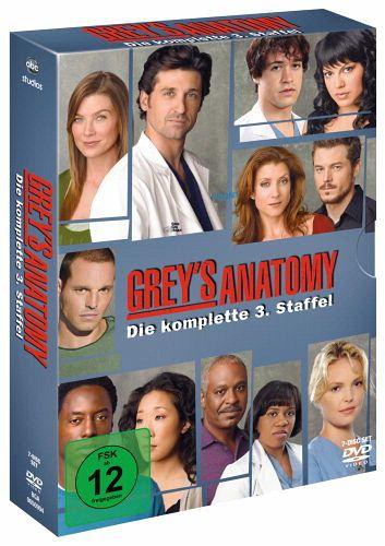 Grey\'s Anatomy: Die jungen Ärzte - Die komplette dritte Staffel (7 ...