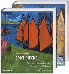Erich Heckel - Werkverzeichnis der Gemälde, Wandbilder und Skulpturen - Hüneke, Andreas