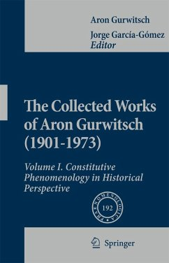 The Collected Works of Aron Gurwitsch in English I - Gurwitsch, Aron