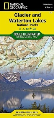 National Geographic Trails Illustrated Map Glac...