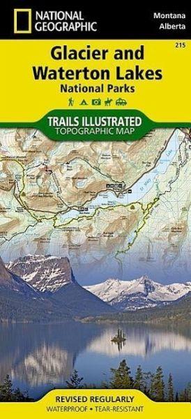 national geographic trails illustrated map glacier. Black Bedroom Furniture Sets. Home Design Ideas