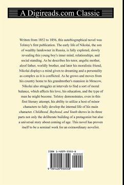 Childhood, Boyhood, and Youth - Tolstoy, Leo