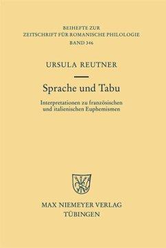 Sprache und Tabu