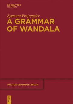 A Grammar of Wandala - Frajzyngier, Zygmunt