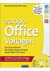 20 000 Office Vorlagen M Dvd Rom