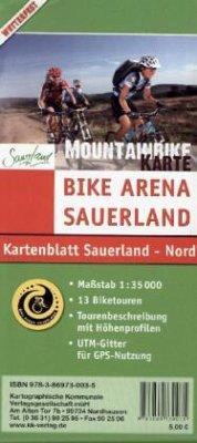 KKV Mountainbikekarte Sauerland, Nord