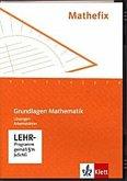 Mathefix - Grundlagen Mathematik, Lehrer-CD-ROM zum Arbeitsheft