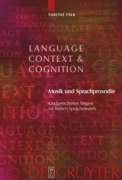 Musik und Sprachprosodie - Falk, Simone