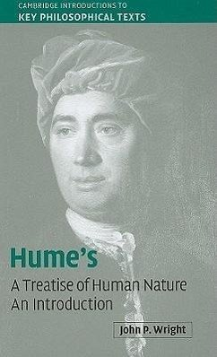Hume's 'a Treatise of Human Nature': An Introduction - Wright, John P.