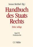 Freiheitsrechte / Handbuch des Staatsrechts der Bundesrepublik Deutschland C