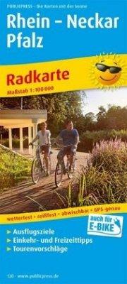PublicPress Radwanderkarte Rhein - Neckar - Pfalz