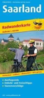 PublicPress Radwanderkarte Saarland