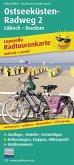 PUBLICPRESS Leporello Radtourenkarte Ostseeküsten-Radweg