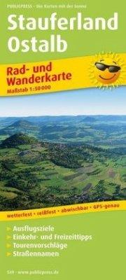 PublicPress Rad- und Wanderkarte Stauferland - ...