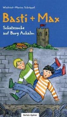 Basti und Max. Schatzsuche auf Burg Achalm