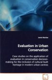 Evaluation in Urban Conservation