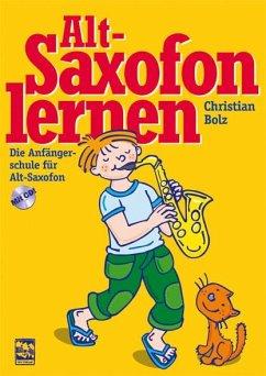 Altsaxofon lernen, m. Audio-CD
