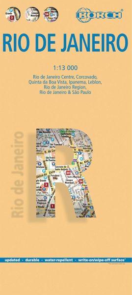 Borch Map Rio de Janeiro