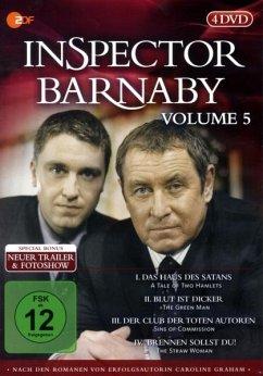 Inspector Barnaby, Vol. 05 (4 DVDs)