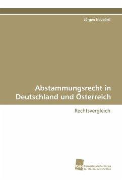 Abstammungsrecht in Deutschland und Österreich