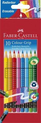 Faber-Castell Bunststifte Colour Grip, 10er Set