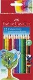 Faber-Castell Buntstifte Colour Grip, 12er Set