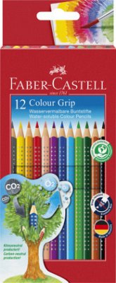 Faber-Castell Buntstifte Colour Grip 12er Set