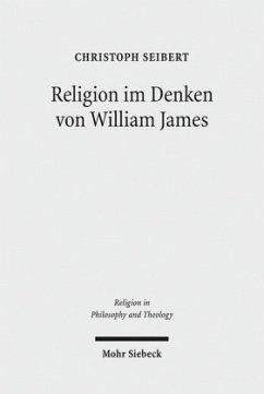 Religion im Denken von William James - Seibert, Christoph
