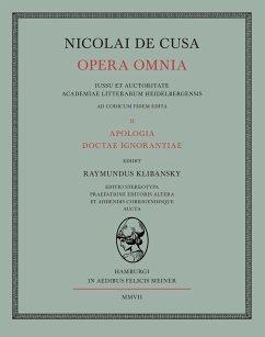 Nicolai de Cusa Opera omnia