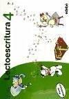 Proyecto Cucú, lectoescritura, 4 Educación Infantil, pauta Montessori. Cuaderno