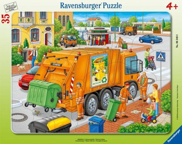 Müllabfuhr für kinder