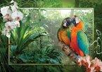 Ravensburger 19188 - Papageien im Dschungel, 1000 Teile Puzzle