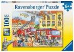 Ravensburger 10822 - Unsere Feuerwehr, 100 Teile XXL Puzzle