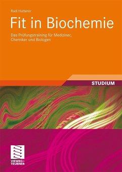 Fit in Biochemie - Hutterer, Rudi