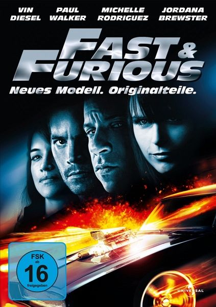 Fast & Furious - Neues Modell. Originalteile - Vin Diesel,Paul Walker,Jordana Brewster